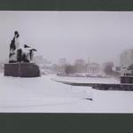 Напротив Филармонии, памятник Прокофьеву