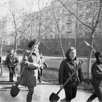 1973-й. Субботник в городе