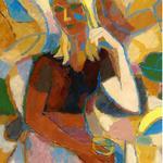 Девушка с бокалом, 2006