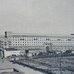 Площадь Революции до реконструкции в 1947 году