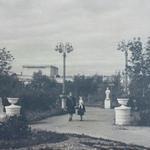 Сквер у театра в Тракторозаводском районе