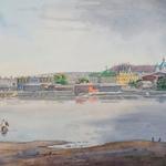 Вид центра города из Заречья
