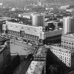 Над городом. Вид сверху на площадь Революции