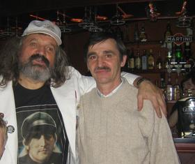 Коля Васин (слева) и Михаил Гольцфарб