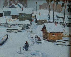 Н.А. Петриченко. Зимний день
