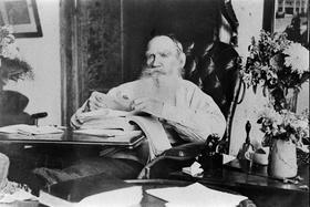 Л.Н. Толстой. Фото жены писателя С.А. Толстой