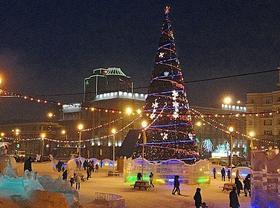Новый год - на главной площади Челябинска