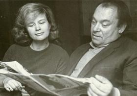 Борис и Галина Заходер (конец 60-х)