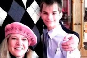 Максим со своей «несостоявшейся» американской мамой во время ее визита в Челябинск год назад