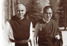 Томас Мертон и Далай-Лама XIV