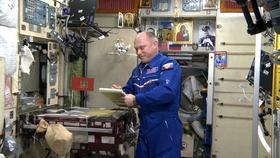 Тотальный диктант в космосе. МКС. Лётчик-космонавт Олег Артемье
