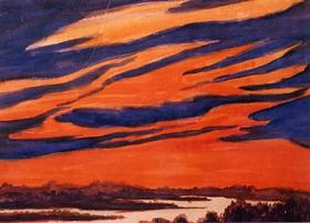 А.Л. Чижевский. Грозное небо. 1946