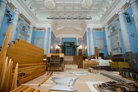 Специалисты фирмы «Hermann Eule» начали плановую подготовку челябинского органа к монтажу
