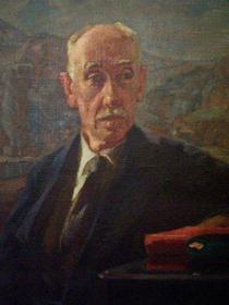 Портрет Богаевского работы Н.С.Барсамова