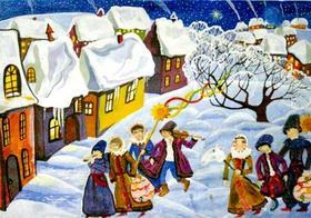 Пришло Рождество, начались Святки